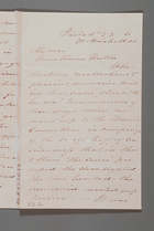 Letter from Sarah Pugh to Anne Warren Weston, February 2, 1851