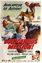 Dangerous Mission (1954): Shooting script