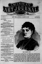 American Art Journal, Vol. 1, no. 10, March 25, 1876