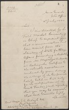 [Duplicate of] Letter from E. A. Whitmore to J. C. Ardagh, July 16, 1880
