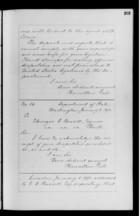 Letters from Hamilton Fish to Ebenezer Bassett, 1871