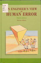 An Engineer's View of Human Error
