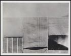 5 textile pieces, 2 plain, 2 stripes, 1 solid colour