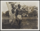'Dagati warrior with bow and arrow standing at ease', possibly number 395 ?