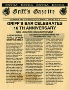 Griff's Gazette, Volume 2, Issue 8, December 1988