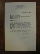 Stanley Milgram to David B.H. Martin, February 14, 1962