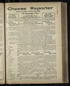 Cheese Reporter, Vol. 54, no. 21, Saturday, February 1, 1930