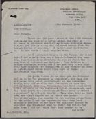 Letter from J. L. Keith to A. J. Watson, January 18, 1946