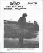 CooP - Fast Folk Musical Magazine (Vol. 1, No. 8)