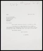 Letter from MG to Dr J. Vanderlinden, 20 June 1966