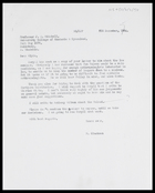 Letter from MG to J. Clyde Mitchell, 8 Dec. 1964