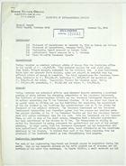 General Field Report from John T. Lassiter for December 1943
