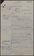 Draft of Letter from Julian Amery to Nigel Fisher, August 10, 1959