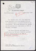 Correspondence re: Iranian Internal Situation, October 25-26, 1978