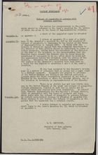 Cabinet Submission - Refusal of Passports to Persons with Criminal Records, Draft Responses Included, January 11, 1961