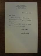 Stanley Milgram to Andrew, February 19, 1962