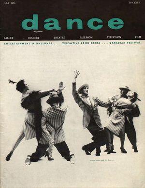 Dance Magazine, Vol. 28, no. 7, July, 1954