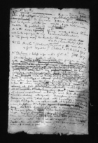 Field Notes Written on Back of an Envelope Addressed to Malinowski