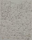 Letter from Kate MacArthur Leslie to William Leslie, April 4, 1842
