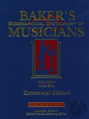 Baker's Biographical Dictionary of Musicians, vol. 1