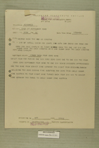 Memo from George Dash Two HQS US Constab to Dir of Intell EUCOMM, September 17, 1949
