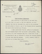 Letter from R. M. Greenwood to G. S. King, August 18, 1924