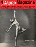Dance Magazine, Vol. 36, no. 4, April, 1962