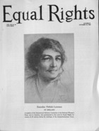 Equal Rights, Vol. 12, no. 35, October 10, 1925