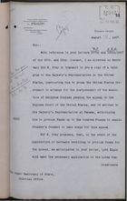 Correspondence re: Postponement of Execution of Adolphus Coulsen, August 21-28, 1907
