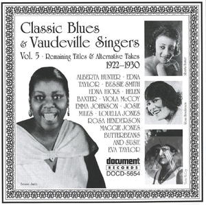 Classic Blues & Vaudeville Singers Vol. 5 (1922-1930)