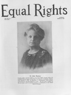 Equal Rights, Vol. 14, no. 7, March 24, 1928
