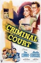 Criminal Court (1946): Shooting script