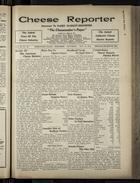 Cheese Reporter, Vol. 54, no. 38, Saturday, May 31, 1930