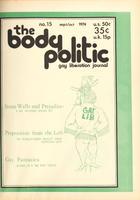 The Body Politic no. 15, September/October 1974