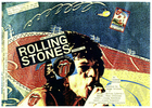 Flyer for The Night Before the Rolling Stones Concert '81 by Jeannie Barroga, at the People's Theater, San Francisco, CA, June 11, year unknown.