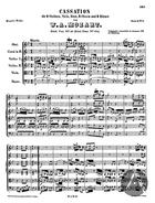 Cassation, K. 99, B Flat Major