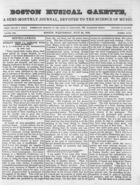 Boston Musical Gazette, Vol. 1, no. 7, July 25, 1838