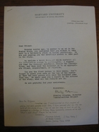 Florence Schwab to Stanley Milgram, January 1968