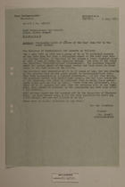 Memo from Dr. Riedl re: Propaganda March of Members of the East Zone, July 2, 1951