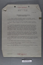 Brief Summary of French Proposal made by General Doyen, 15 May, 1945