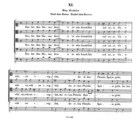 Das Gratias nach dem Essen, Op. 13, SWV 430