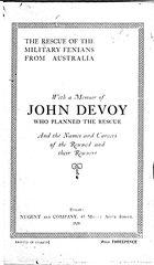 DEVOY FINDS A CAPTAIN