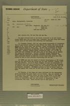 Airgram from AmConGeneral, Jerusalem to Secretary of State, April 10, 1959