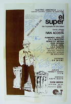 Poster for El Super by Ivan Mariano Acosta.