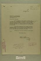 Letter from Peyton C. March to C. B. Hudspeth, April 9, 1919