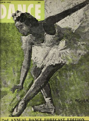 Dance Magazine, Vol. 19, no. 3, March, 1945