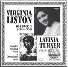 Virginia Liston Vol. 2 (1924-1926) Lavinia Turner (1921-1922)