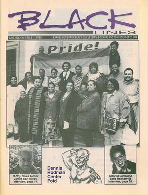 BLACKlines, Vol. 1 no. 5, June1996