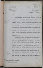 Correspondence re: Dues Charged on Turtles Caught in Nicaraguan Waters, September 20-November 12, 1907