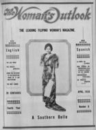 The Woman's Outlook (April 1926) 4:6